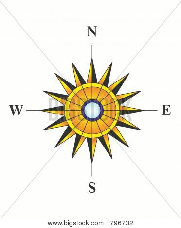 Sunny compass