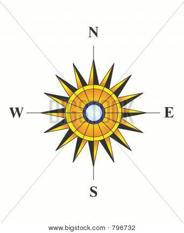 Sunny compass