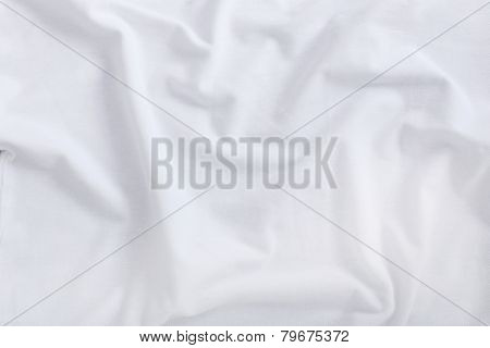 White shirt on a wooden table