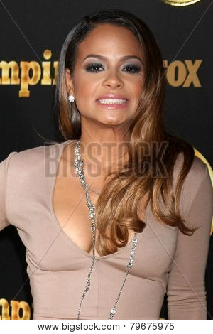 LOS ANGELES - JAN 6:  Christina Milian at the FOX TV