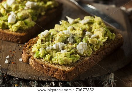 Healthy Homemade Avocado Toast