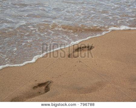 Beach footprints 2