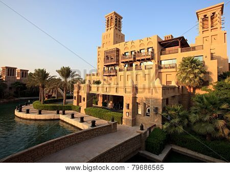 Area of the Madinat Jumeirah complex.