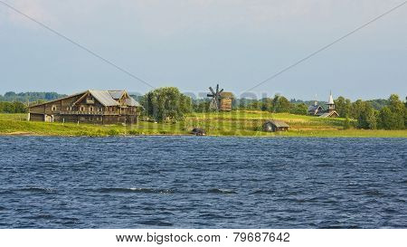 Landscape Of Kizhi Island