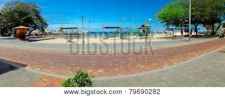playground park in san cristobal galapagos