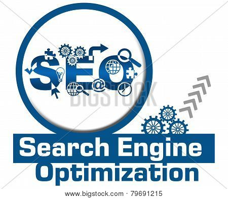 SEO Circle Gears Elements