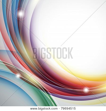 vector background with shiny  lines