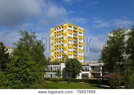Prefab Building A Kindergarten In Hradec Kralove