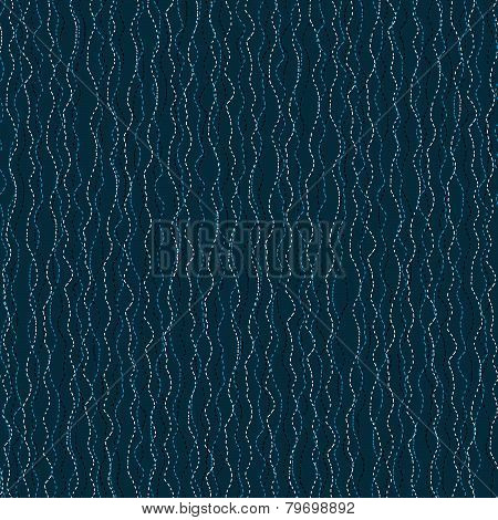 Abstract hand drawn wavy background. Seamless vector pattern.