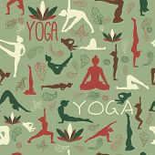 picture of yoga instructor  - Yoga pattern - JPG