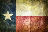 stock photo of texas star  - flag of the state of Texas - JPG