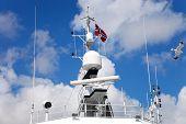image of mast  - The radar - JPG