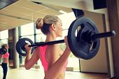 image of gym workout  - fitness - JPG