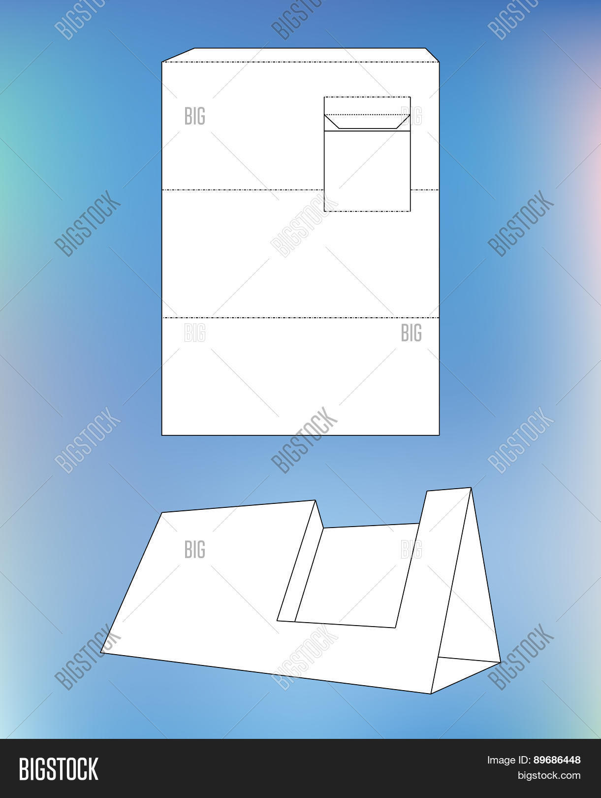 business card display box box vector photo