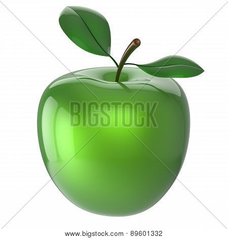 Apple Green Ripe Fruit Nutrition Antioxidant Fresh Fruit