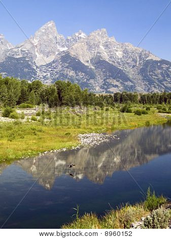 Teton Snake River Reflection