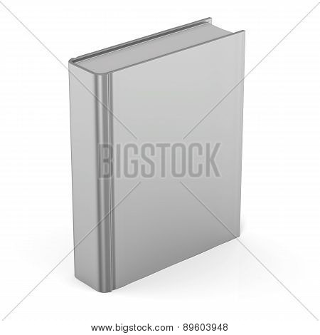 Book Blank Clean Empty Template Single Brochure Hard Cover