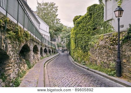 Streets Of Paris, France.