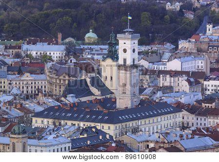Historic District Of Lviv