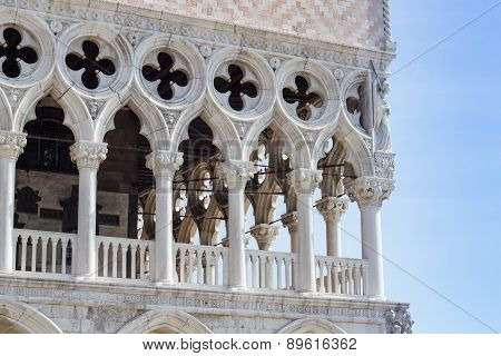 Particular View Of San Marco Square, Palazzo Ducale (venice Italy)