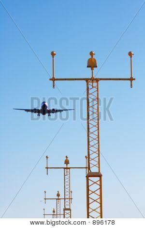 Approaching Plane