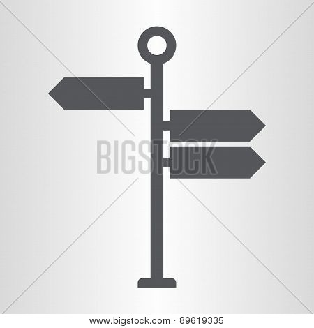 Signpost icon