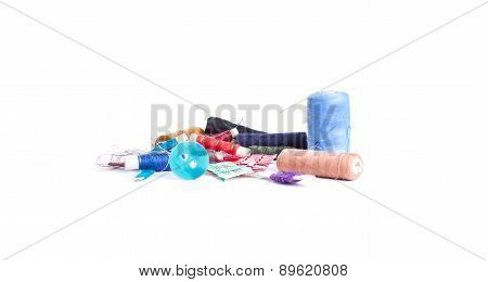 Composition With Tailor Needles And Threads