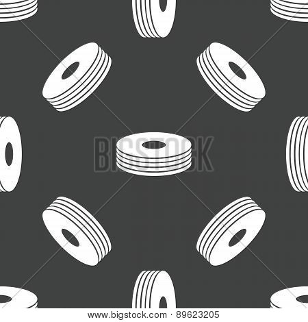 Pile of compact discs pattern