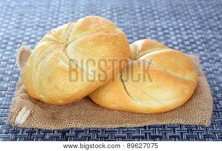 Two Kaiser Bread