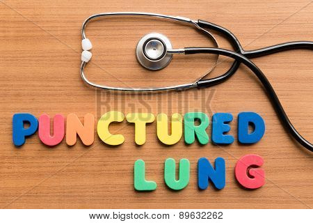 punctured lung