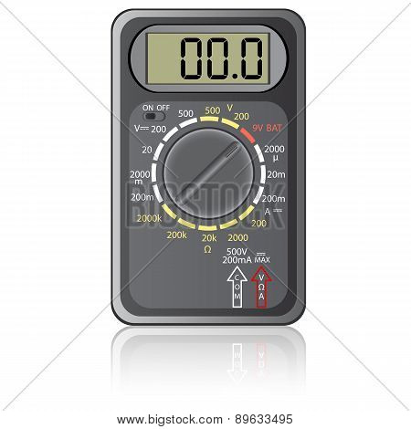 Digital multimeter.