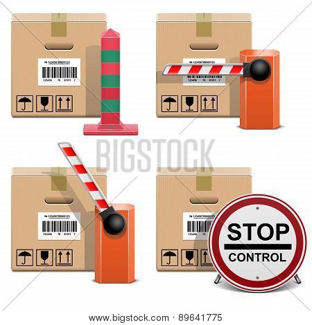 Vector Shipment Icons Set 22