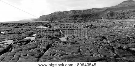 Kimmeridge Bay Rock Formations