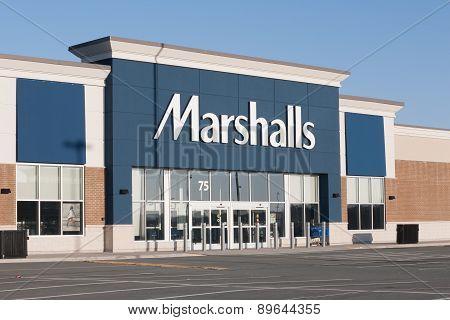 Marshalls Storefront.