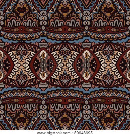 Ethnic Abstract Seamless Festive pattern