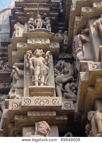 Temples At Khajuraho In India