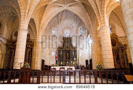 Interior Of Santo Domingo Cathedral
