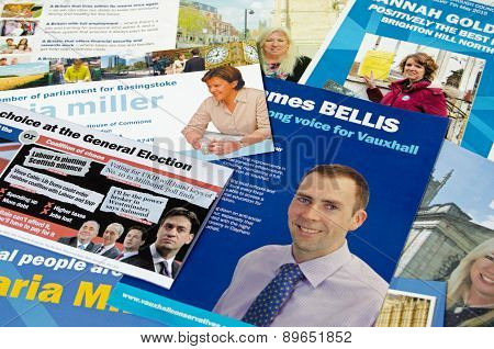 Conservative Party Campaign leaflets