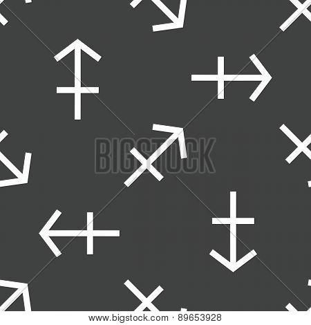 Sagittarius symbol pattern