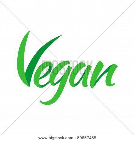 Vegetarian green text.