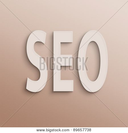 text on the wall or paper, SEO
