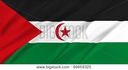 Flag Of Western Sahara