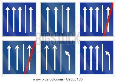 Shoulder Usage Signs In Germany