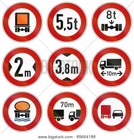 Lorry Restrictions In Germany
