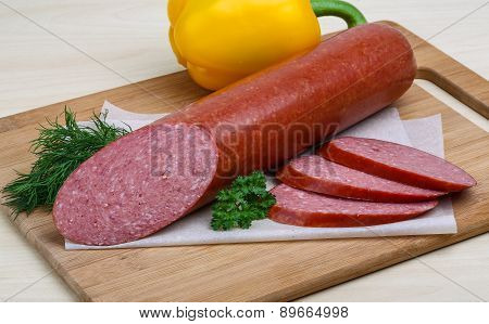 Sausage With Herbs
