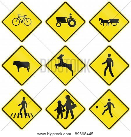 Crossing Signs In Chile