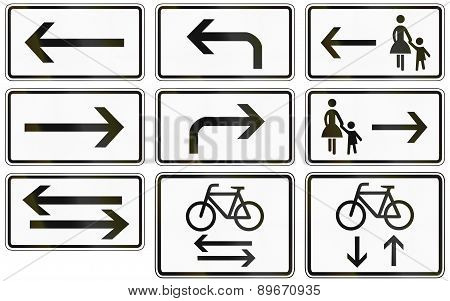 Supplemental Directions In Germany