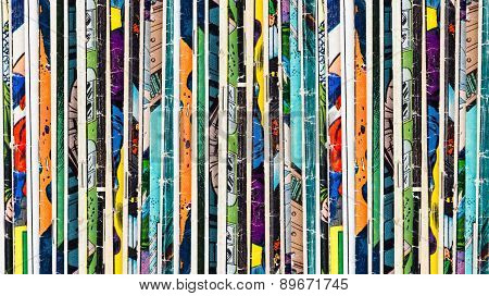Comic Books Background