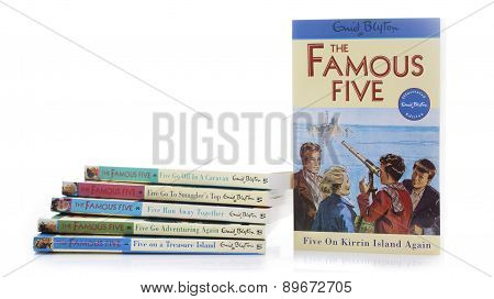 Collection Of Famous Five Books