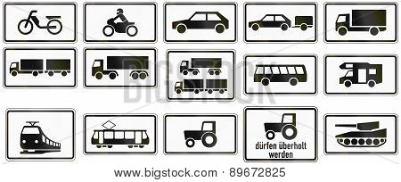 Supplemental Vehicle Types In Germany